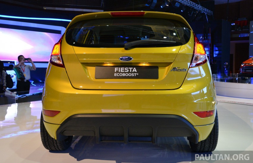 Ford Fiesta 1.0 EcoBoost previewed at KLIMS13 Image #210117