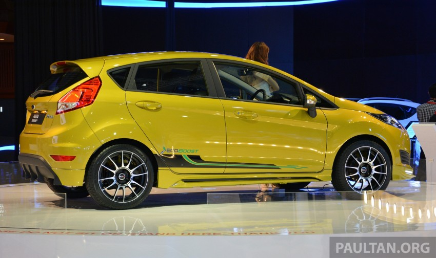Ford Fiesta 1.0 EcoBoost previewed at KLIMS13 Image #210119