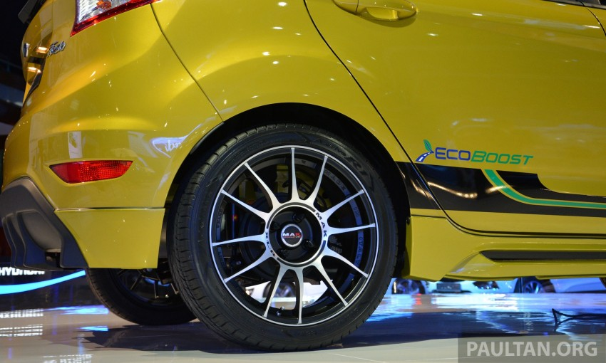 Ford Fiesta 1.0 EcoBoost previewed at KLIMS13 Image #210120