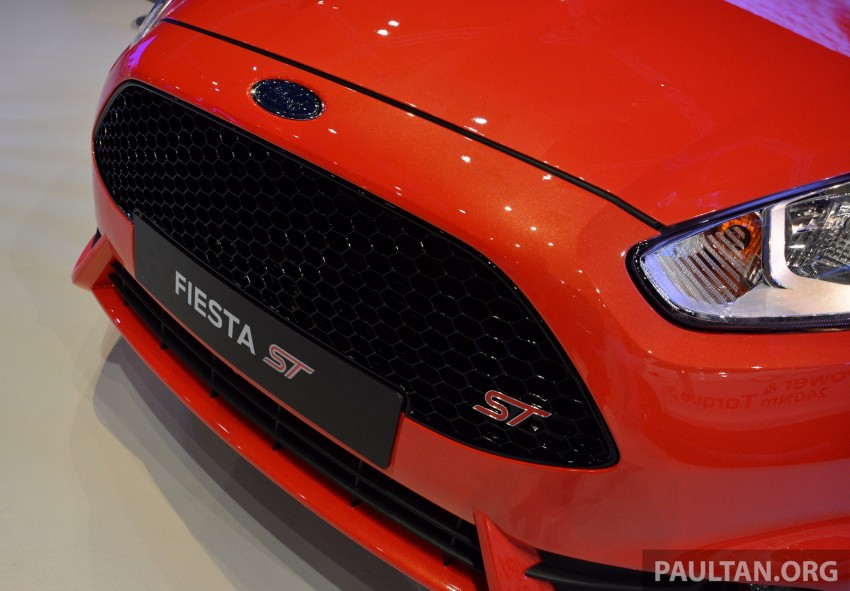 Ford Fiesta ST shown at KLIMS13 – arrives in 2014 Image #210439