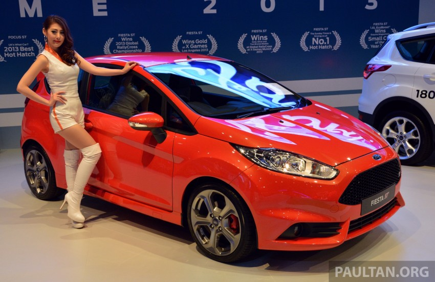 Ford Fiesta ST shown at KLIMS13 – arrives in 2014 Image #210447