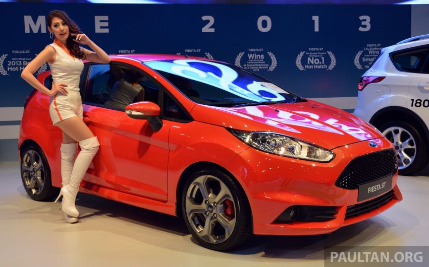 Ford Fiesta ST shown at KLIMS13 – arrives in 2014 Image #210448