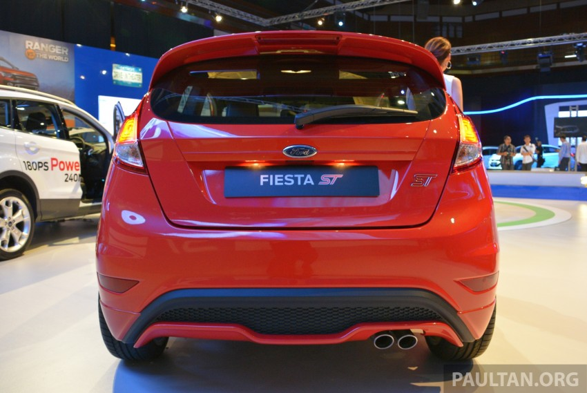 Ford Fiesta ST shown at KLIMS13 – arrives in 2014 Image #210449