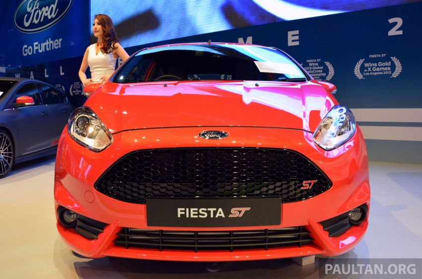 Ford Fiesta ST shown at KLIMS13 – arrives in 2014 Image #210452