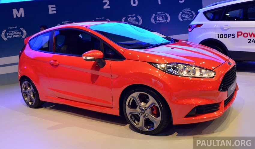 Ford Fiesta ST shown at KLIMS13 – arrives in 2014 Image #210454