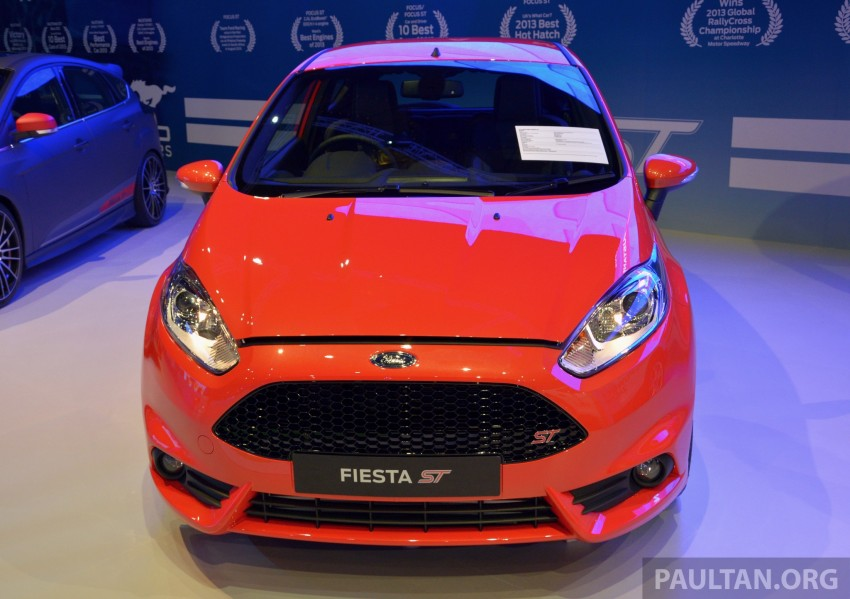 Ford Fiesta ST shown at KLIMS13 – arrives in 2014 Image #210457