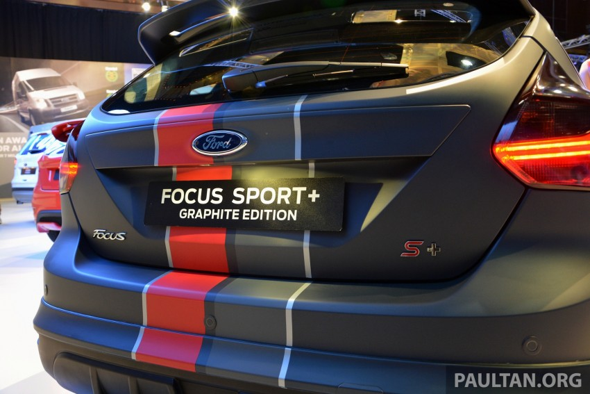 Ford Focus Sport+ Graphite Edition – a loaded one-off Image #210738