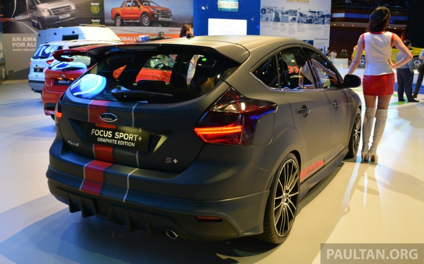 Ford Focus Sport+ Graphite Edition – a loaded one-off Image #210724