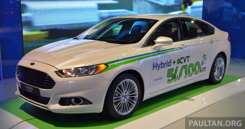Ford Fusion Hybrid previews the Fusion for Malaysia Image #210743