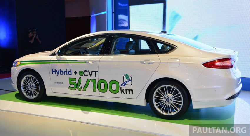 Ford Fusion Hybrid previews the Fusion for Malaysia Image #210748