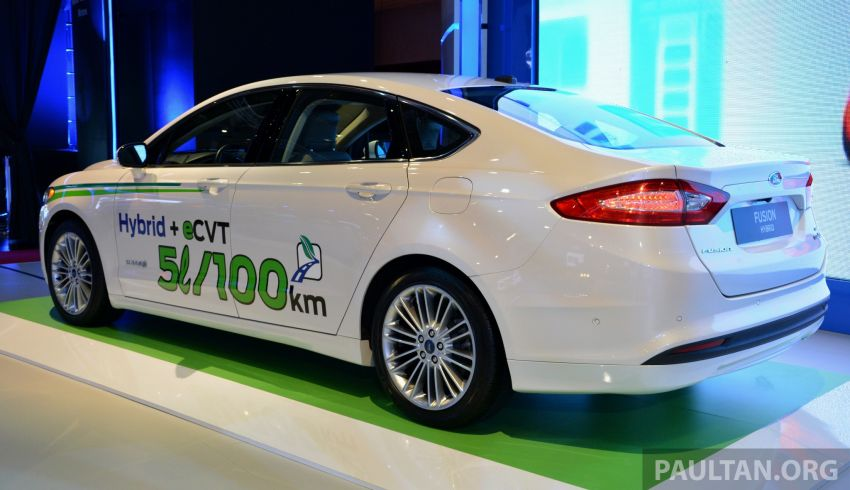 Ford Fusion Hybrid previews the Fusion for Malaysia Image #210749