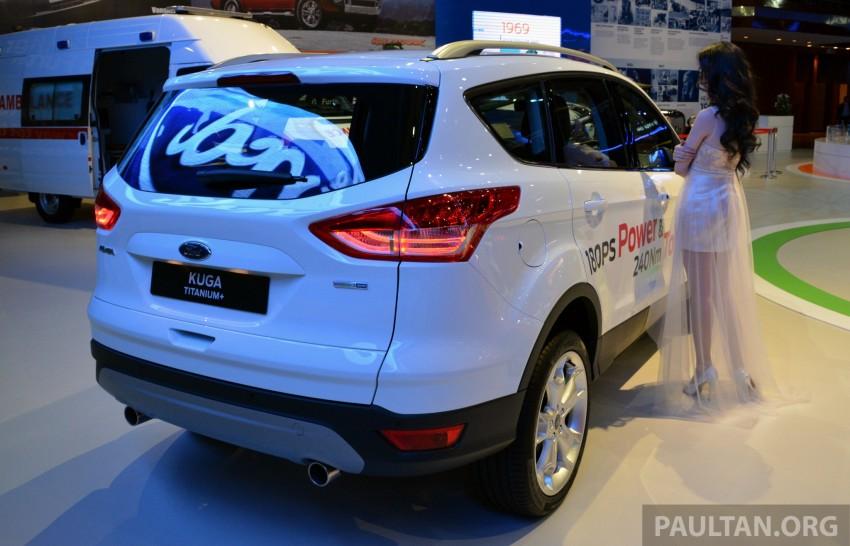 Ford Kuga Titanium+ – higher-spec arrives in 2014 Image #210710