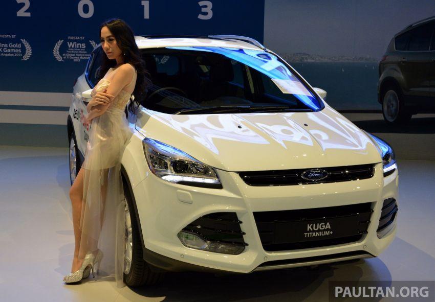 Ford Kuga Titanium+ – higher-spec arrives in 2014 Image #210714