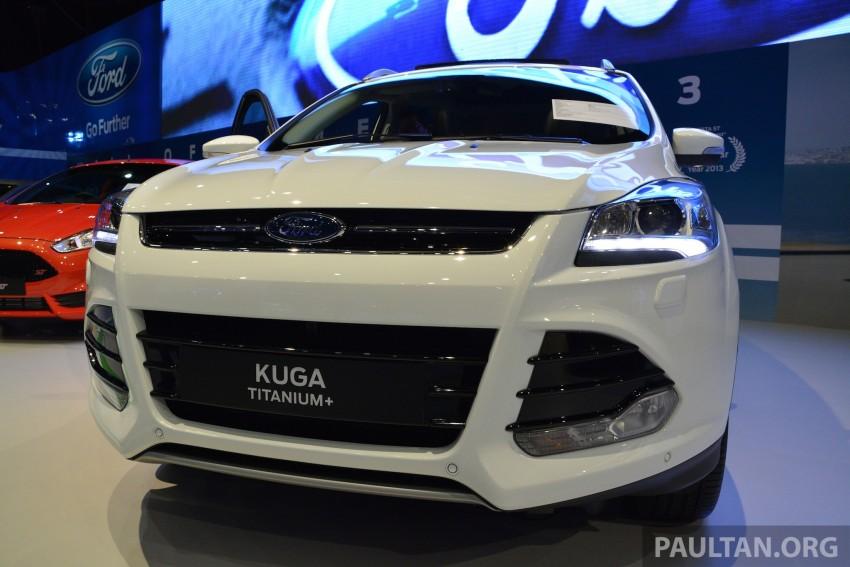 Ford Kuga Titanium+ – higher-spec arrives in 2014 Image #210716