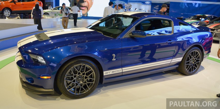 Ford Mustang Shelby GT500 shown at KLIMS13 Image #210702