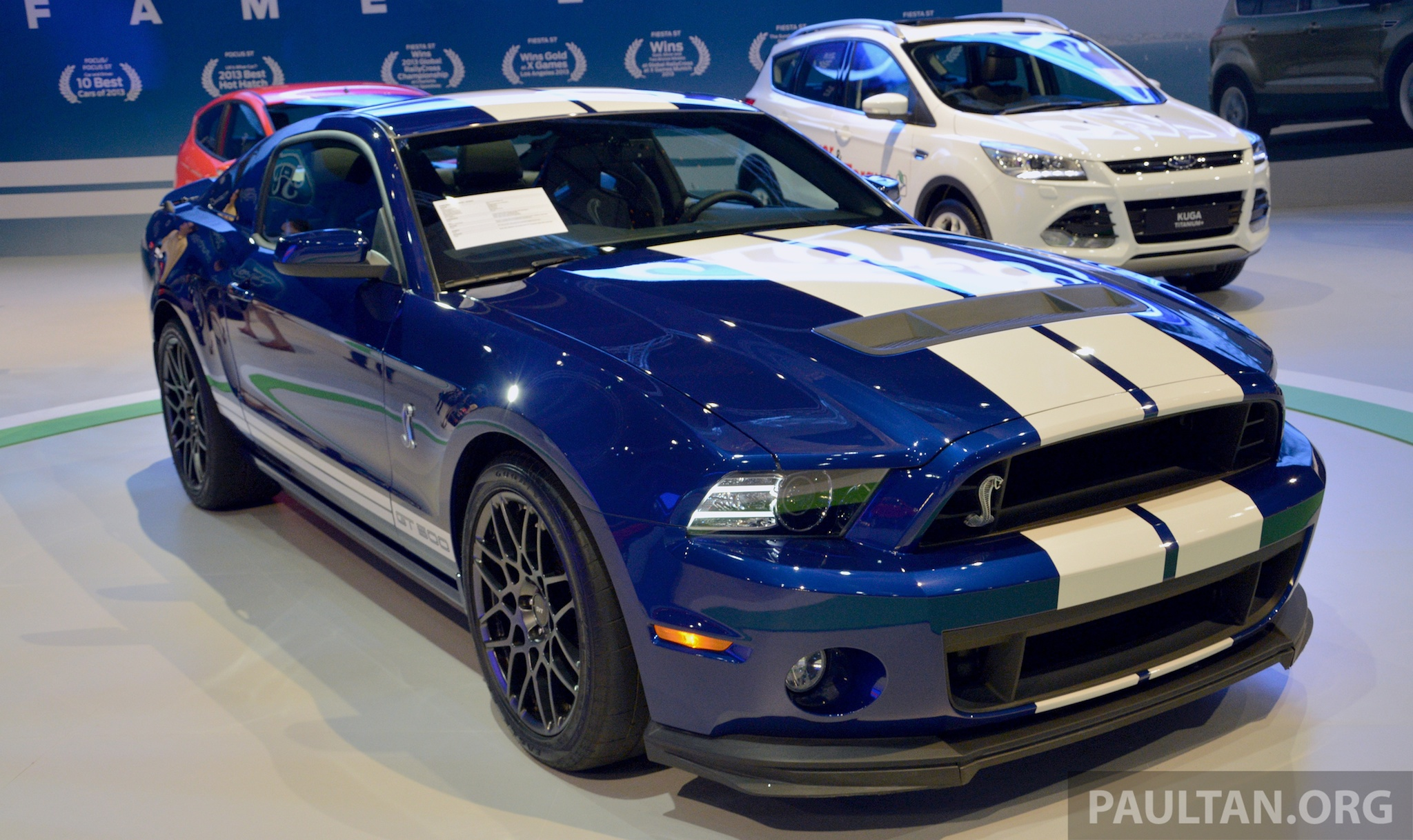 Ford Mustang Shelby GT500 shown at KLIMS13 Paul Tan Image