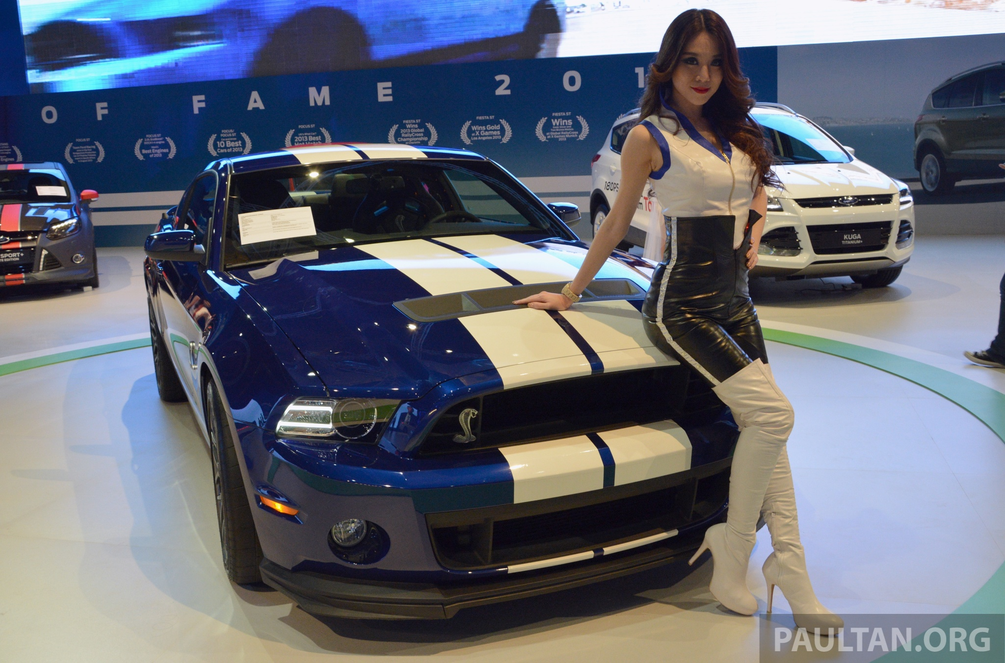 Ford mustang shelby gt500 shown at klims13 image 210692