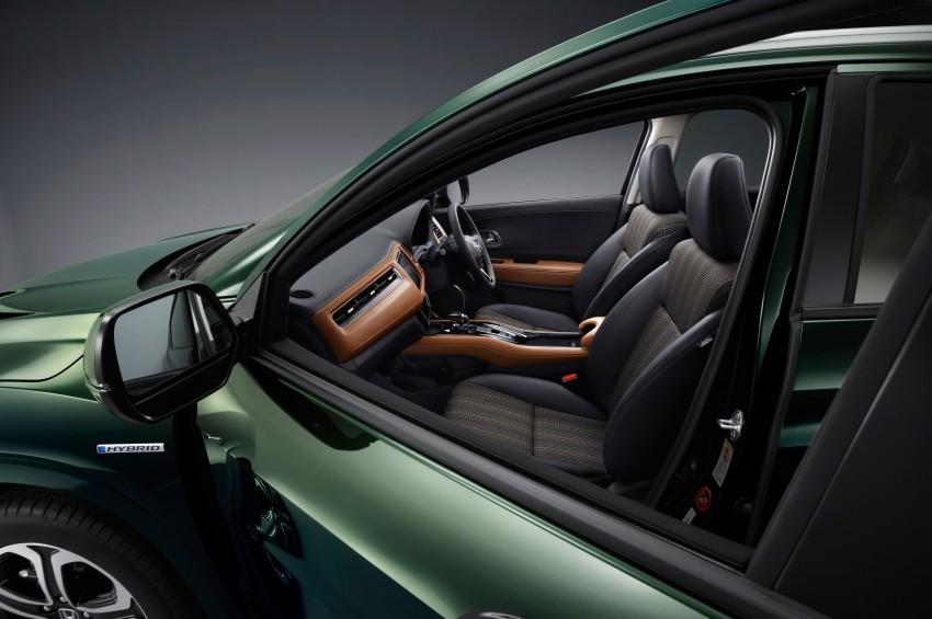 Honda Vezel – Jazz-based SUV debuts in Tokyo Image #212111