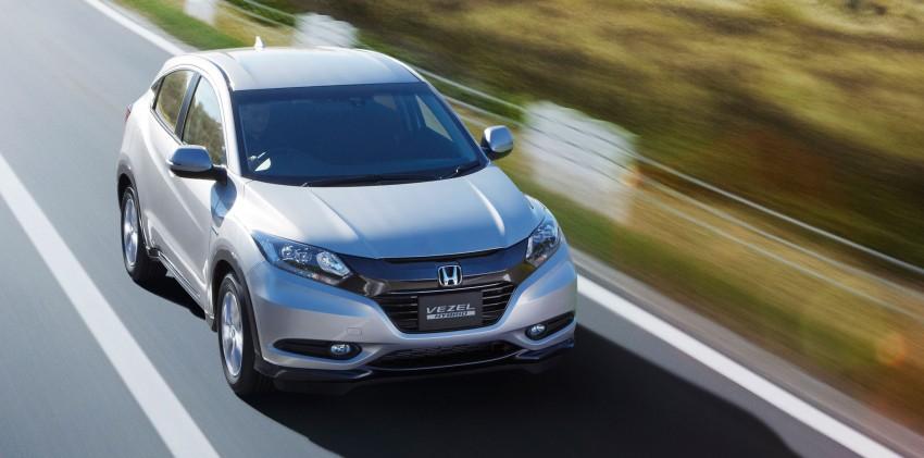 Honda Vezel – Jazz-based SUV debuts in Tokyo Image #212113