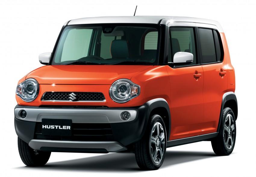 Tokyo 2013: Suzuki Hustler and Hustler Coupe debut Image #213941