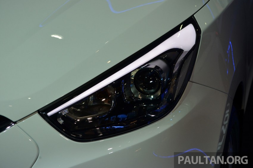 Hyundai Tucson Facelift makes debut at KLIMS13 Image #210187