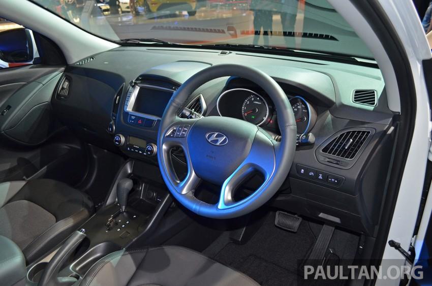 Hyundai Tucson Facelift makes debut at KLIMS13 Image #210198