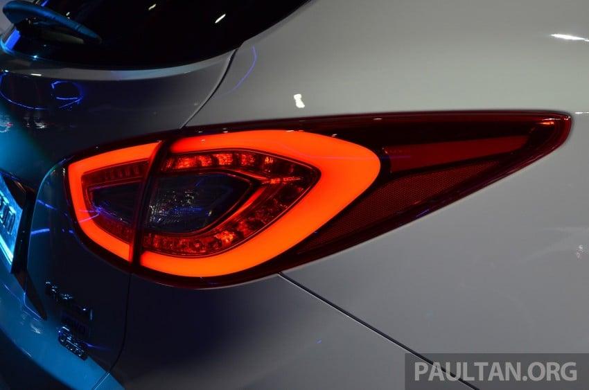 Hyundai Tucson Facelift makes debut at KLIMS13 Image #210200