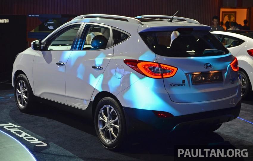 Hyundai Tucson Facelift makes debut at KLIMS13 Image #210188