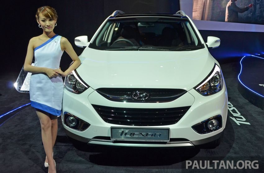 Hyundai Tucson Facelift makes debut at KLIMS13 Image #210189