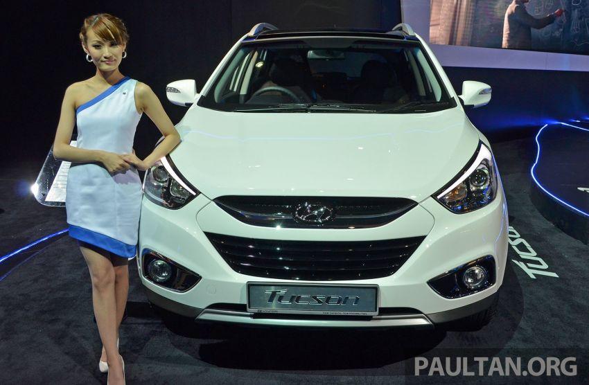 Hyundai Tucson Facelift makes debut at KLIMS13 Image #210189