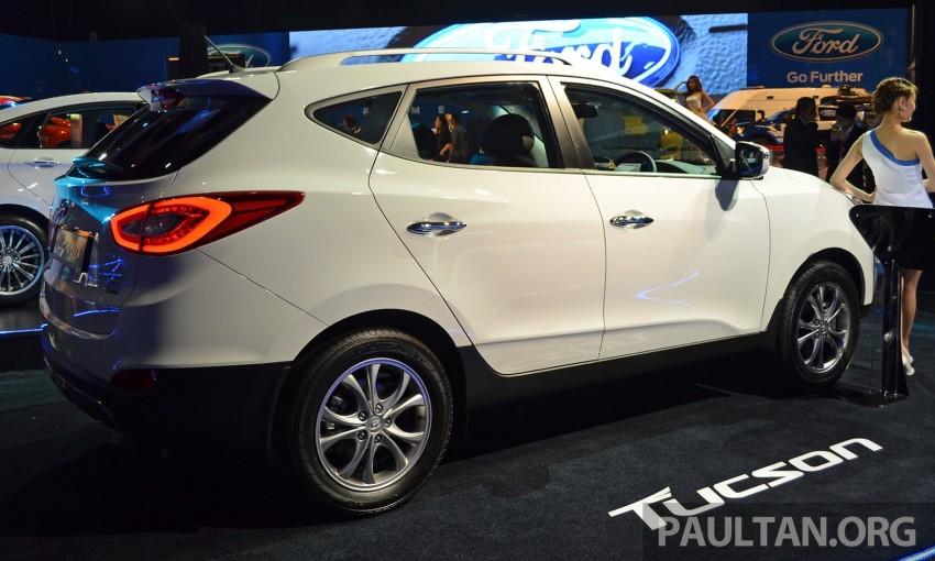 Hyundai Tucson Facelift makes debut at KLIMS13 Image #210190