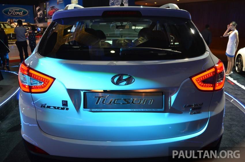 Hyundai Tucson Facelift makes debut at KLIMS13 Image #210191