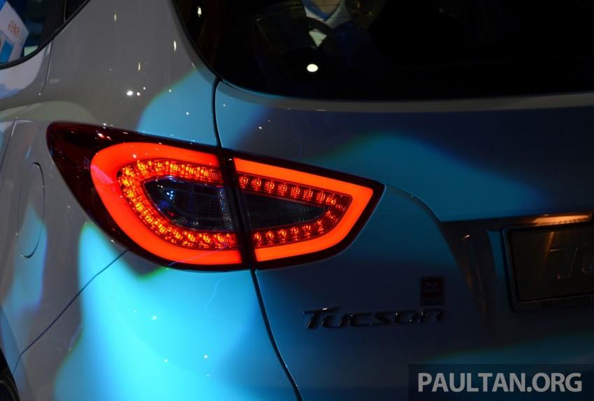 Hyundai Tucson Facelift makes debut at KLIMS13 Image #210192