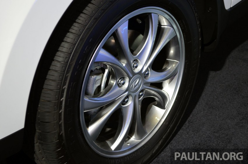 Hyundai Tucson Facelift makes debut at KLIMS13 Image #210193