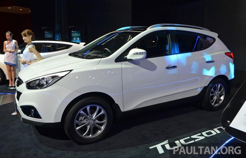 Hyundai Tucson Facelift makes debut at KLIMS13 Image #210195