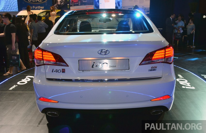 Hyundai i40 Sedan and Tourer launched in Malaysia – duo priced and positioned above the Sonata Image #209869