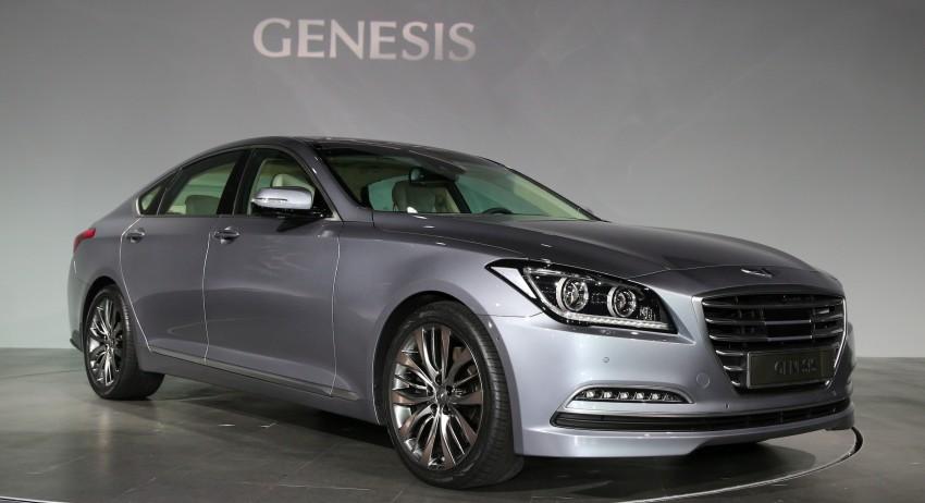 2014 Hyundai Genesis makes world debut in Korea Image #214633