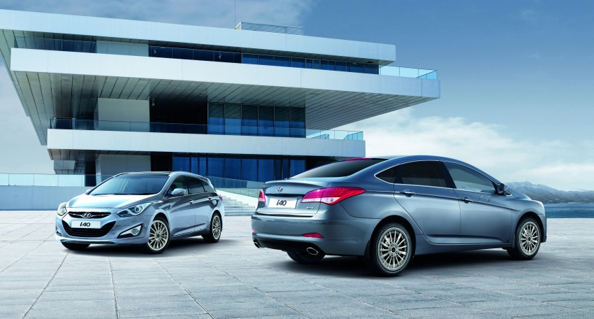 Hyundai i40 Sedan and Tourer launched in Malaysia – duo priced and positioned above the Sonata Image #210264
