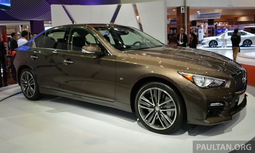 Infiniti Q50 makes Malaysian debut at KLIMS13, prices for new Q and QX line-up released Image #210299