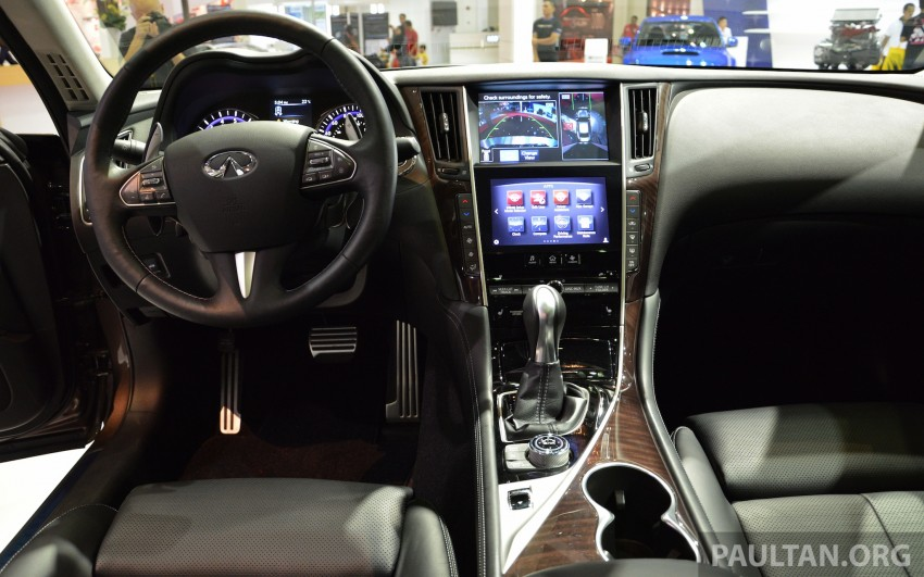 Infiniti Q50 makes Malaysian debut at KLIMS13, prices for new Q and QX line-up released Image #210308