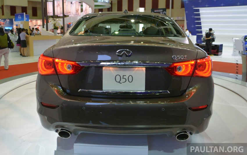 Infiniti Q50 makes Malaysian debut at KLIMS13, prices for new Q and QX line-up released Image #210311