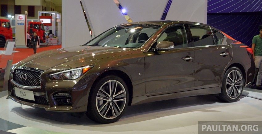 Infiniti Q50 makes Malaysian debut at KLIMS13, prices for new Q and QX line-up released Image #210313