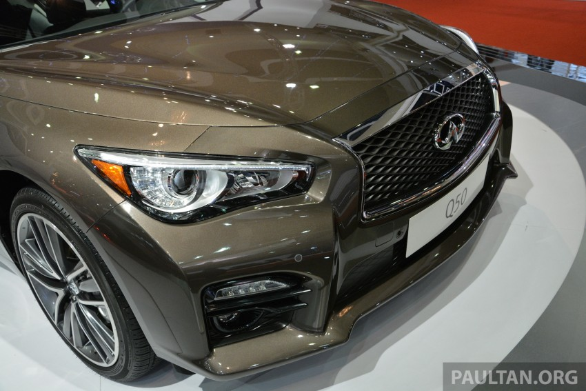 Infiniti Q50 makes Malaysian debut at KLIMS13, prices for new Q and QX line-up released Image #210426