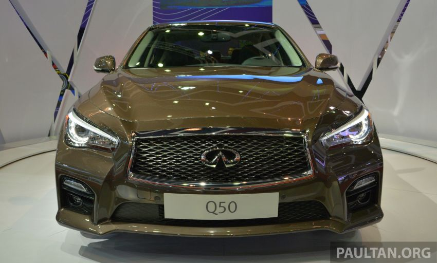 Infiniti Q50 makes Malaysian debut at KLIMS13, prices for new Q and QX line-up released Image #210302
