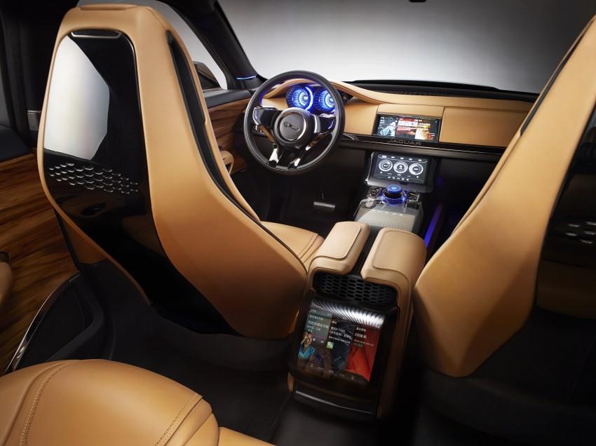 Jaguar C-X17 Concept updated with 5 seater interior Image #213164