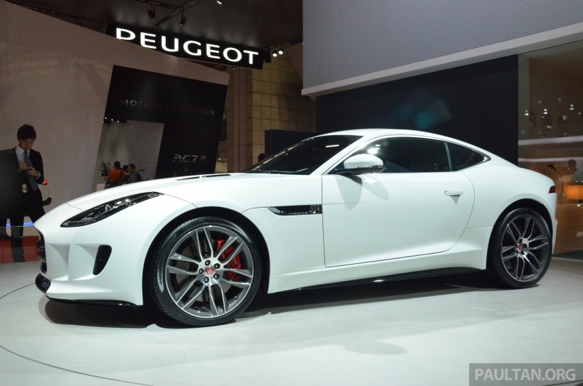 Tokyo 2013: Jaguar F-Type Coupe debuts, gets 550 PS Image #212636