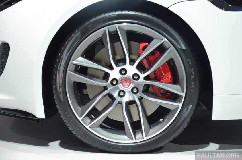 Tokyo 2013: Jaguar F-Type Coupe debuts, gets 550 PS Image #212637