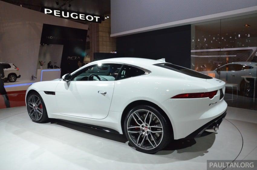 Tokyo 2013: Jaguar F-Type Coupe debuts, gets 550 PS Image #212639