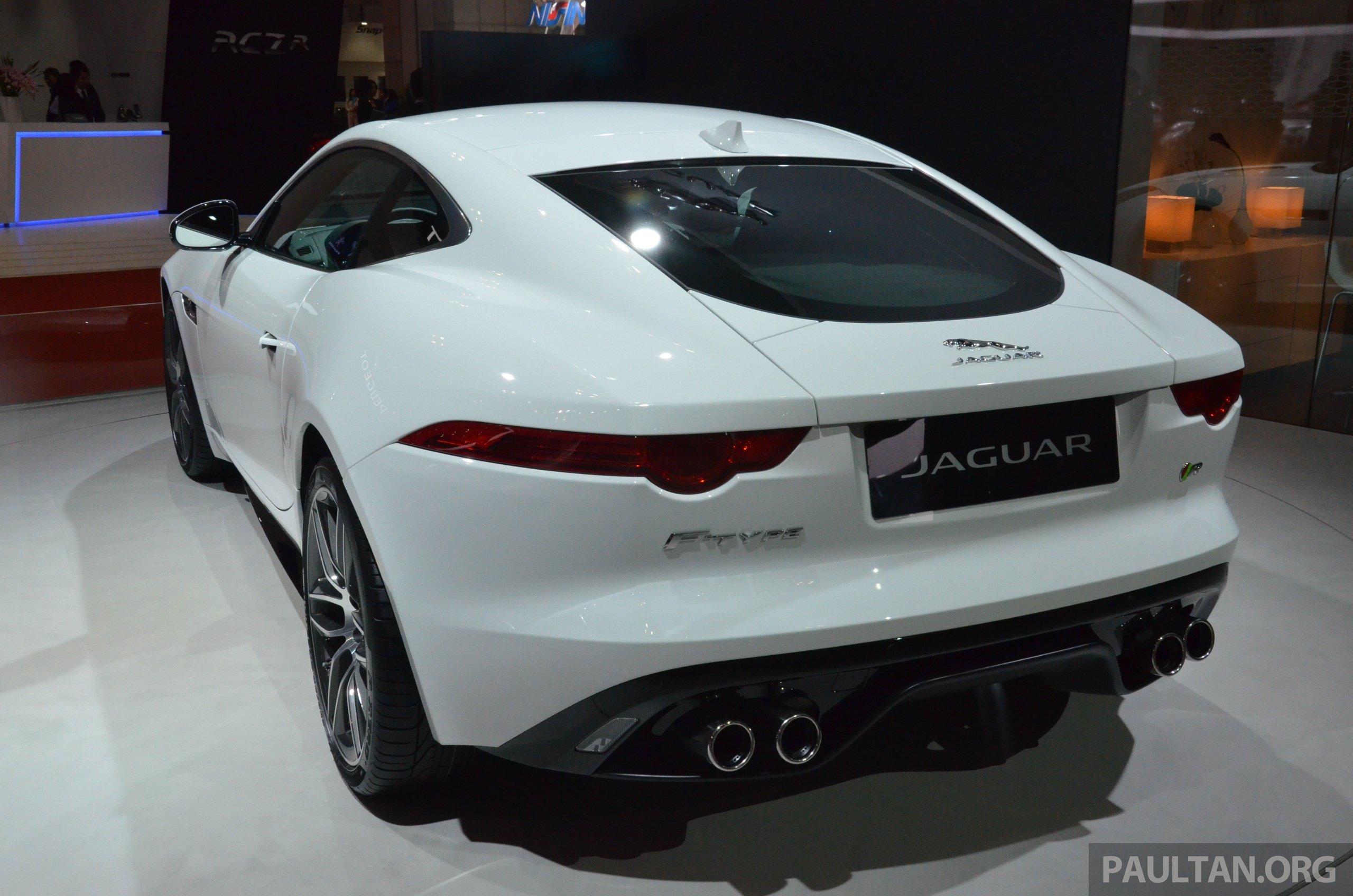 Tokyo 2013: Jaguar F Type Coupe Debuts, Gets 550 PS Image #212640