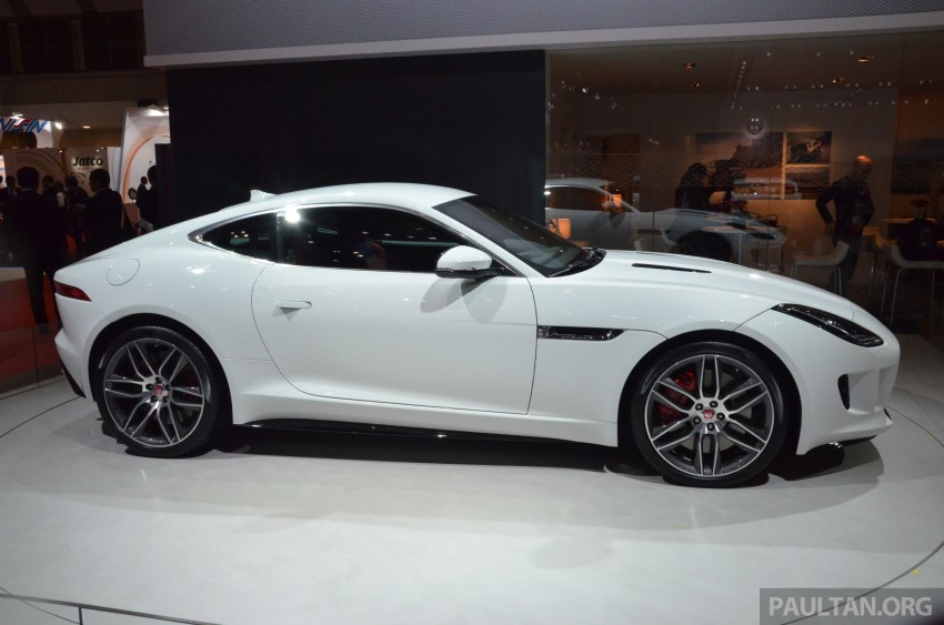 Tokyo 2013: Jaguar F-Type Coupe debuts, gets 550 PS Image #212646
